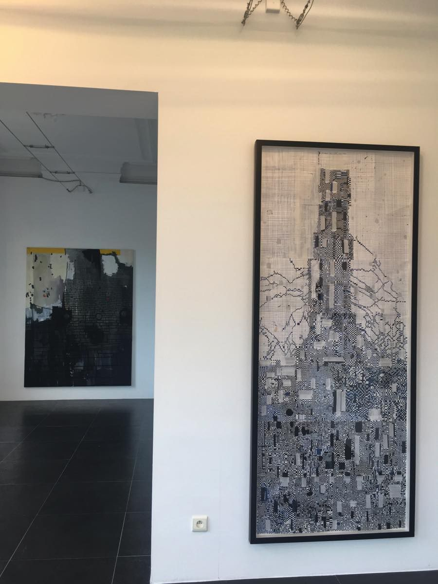 Zilverspoor, Galerie Jacques Cerami, Couillet, Charleroi (solo), 2017